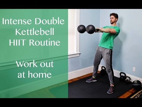 Double KB HIIT Strength Training Workout