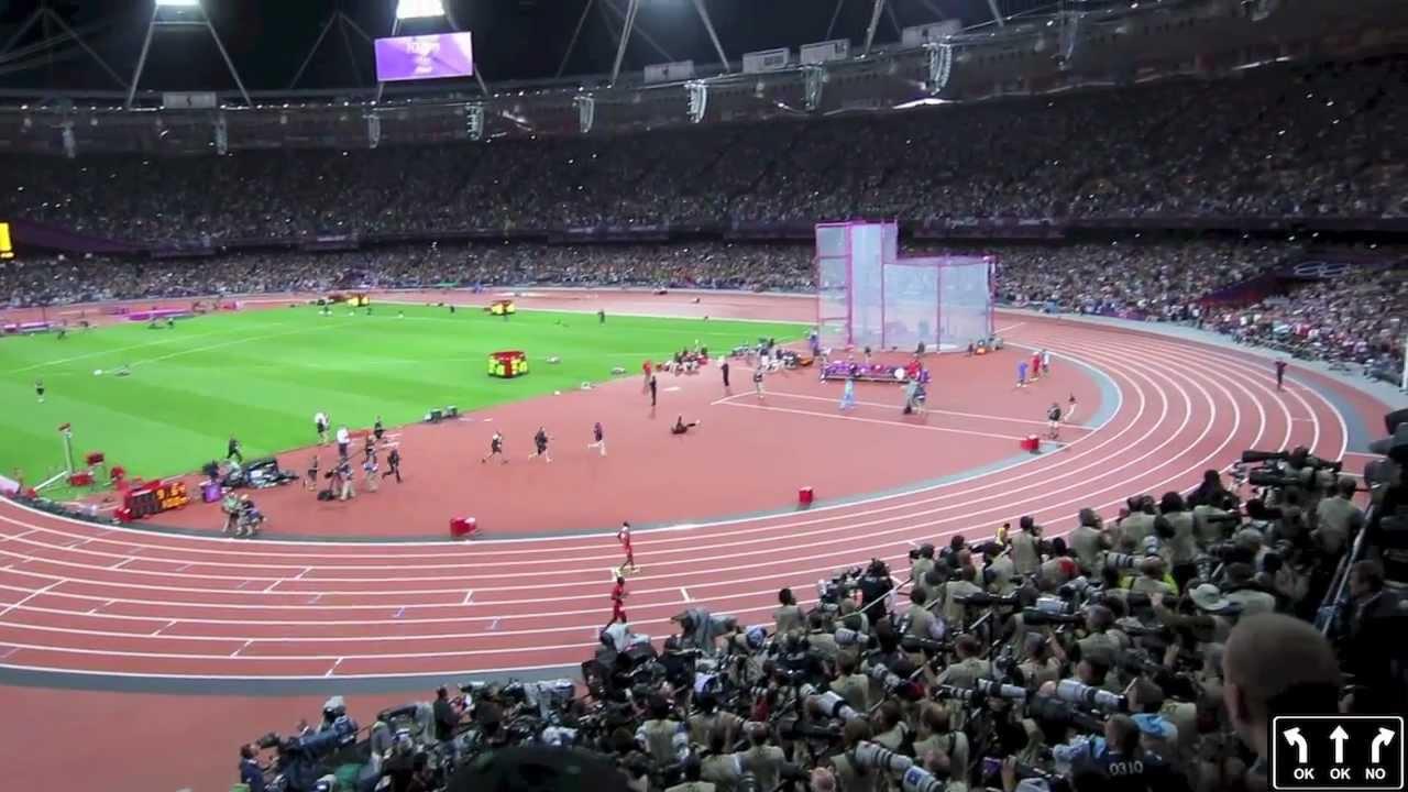 London Olympic Final 2012 Usain Bolt Wins 100 metre Thrown ...