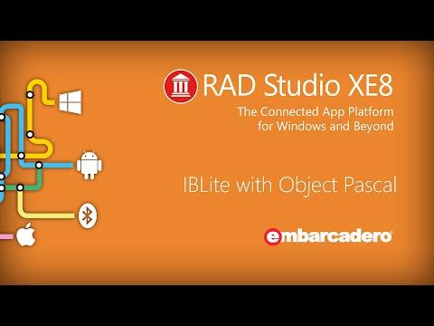 IBLite & FireDAC with Object Pascal - RAD Studio XE8