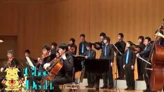 アシタカとサン〔久石譲「もののけ姫」より〕男声合唱と弦楽による(Chor.Draft)