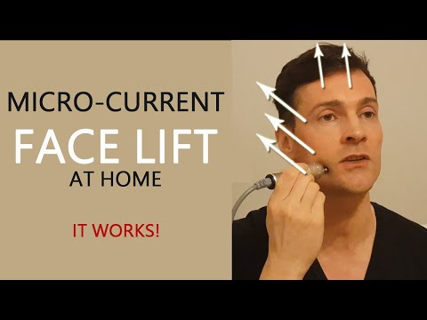 Microcurrent Face Lift At Home