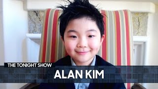 Alan Kim Reveals How He Wants to Spend His Birthday | The Tonight Show Starring Jimmy Fallon