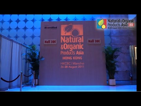 Natural & Organic Products Asia 2015