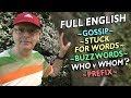 FULL ENGLISH LESSON (26) - prefix / gossip / redact / tongue tied / who or whom? Misterduncan