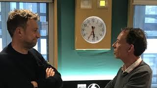 Damon Albarn and Steve Lamacq on BBC Radio 6 Music 2018