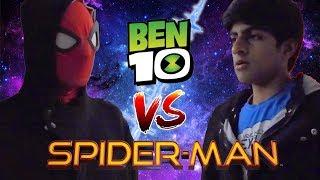 Ben 10 vs Spiderman {Contest of Champions}