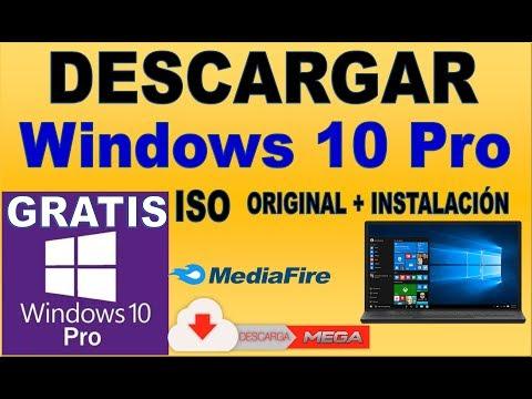 DESCARGAR WINDOWS 10 PRO ISO ORIGINAL + INSTALACIÓN GRATIS 2018-2019