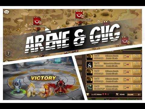 Summoners War - Arène 13 - GVG Noviac 2 le retour