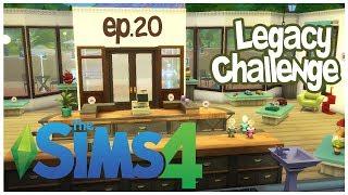 The Sims 4 - Sfida dell'eredità #20 - Il nostro primo negozio [GamePlay ITA]