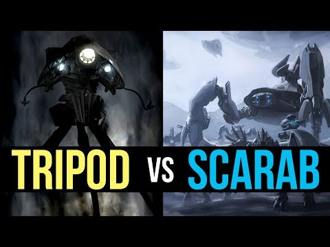 Scarab (Halo) vs Tripod (War of the Worlds)  | Sci-Fi Who Would Win