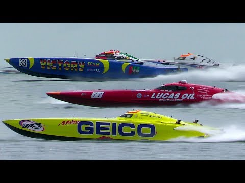 Offshore POWERBOAT Racing | Class ONE | VICTORY Team | Miss GEICO | 2019 Fort Myers Beach