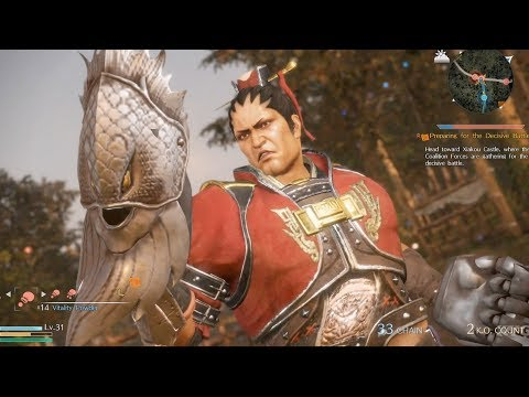Dynasty Warriors 9 - Ding Feng - Open World Free Roam Gameplay (PS4 HD) [1080p60FPS]