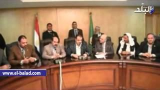 بالفيديو والصور .. محافظ الفيوم يستقبل وفداً من مجلس القبائل المصرية والعربية