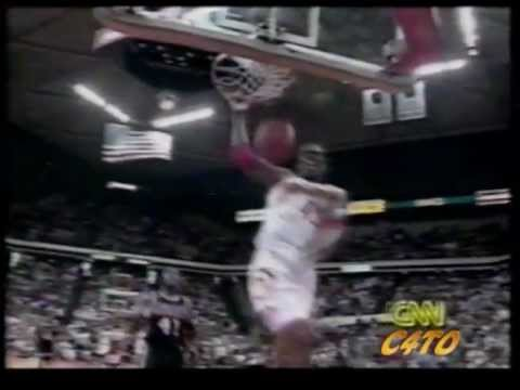 Kevin Willis dunk mix with the Atlanta Hawks