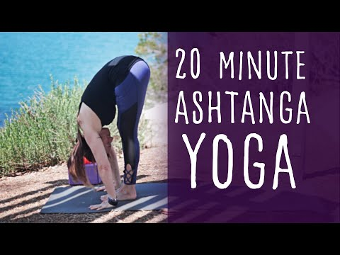 Yoga 20 Minute Ashtanga with Fightmaster Yoga