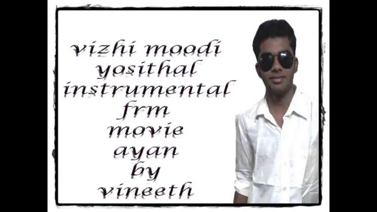 vizhi moodi yosithal instrumental