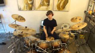 Genesis-Me And Sarah Jane-Three Sides Live Drum Cover