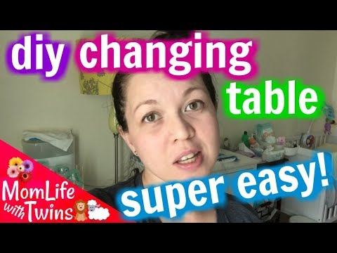 EASIEST DIY CHANGING TABLE | IKEA HACK