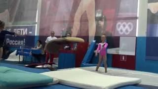 Аня Крайнова прыжок 15 октября 2016