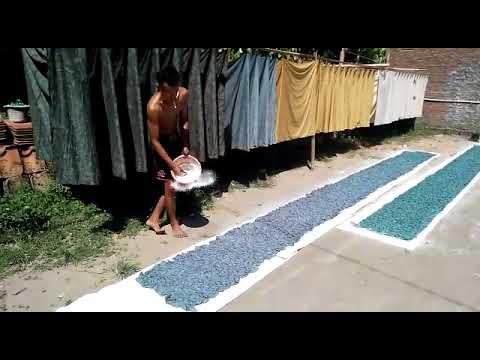 Batik Bali in cheap batik fabric make with stamp and tie diy