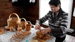 Шкатулка из бересты  Марина Дегтева Козьмодемьянск Марий Эл