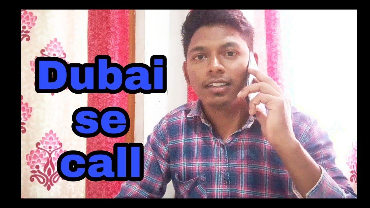 how to call in dubai