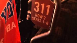 Knicks - Madison Square Garden Chase Bridge - Section 311 BS 5 and 6