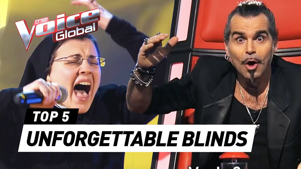 Do YOU remember these ICONIC BLIND AUDITIONS in The Voice?