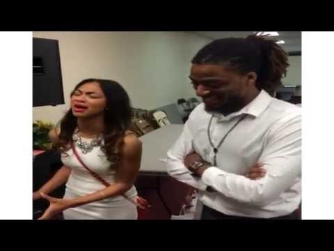 Phil Bryant and MS BRI (Briana Babineaux) singing (AWESOME)