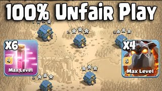 Auto Touch Attack 4 Lava 6 Haste Third Party Easy 3 Star Any War Bases | R.I.P Clash Of Clans War