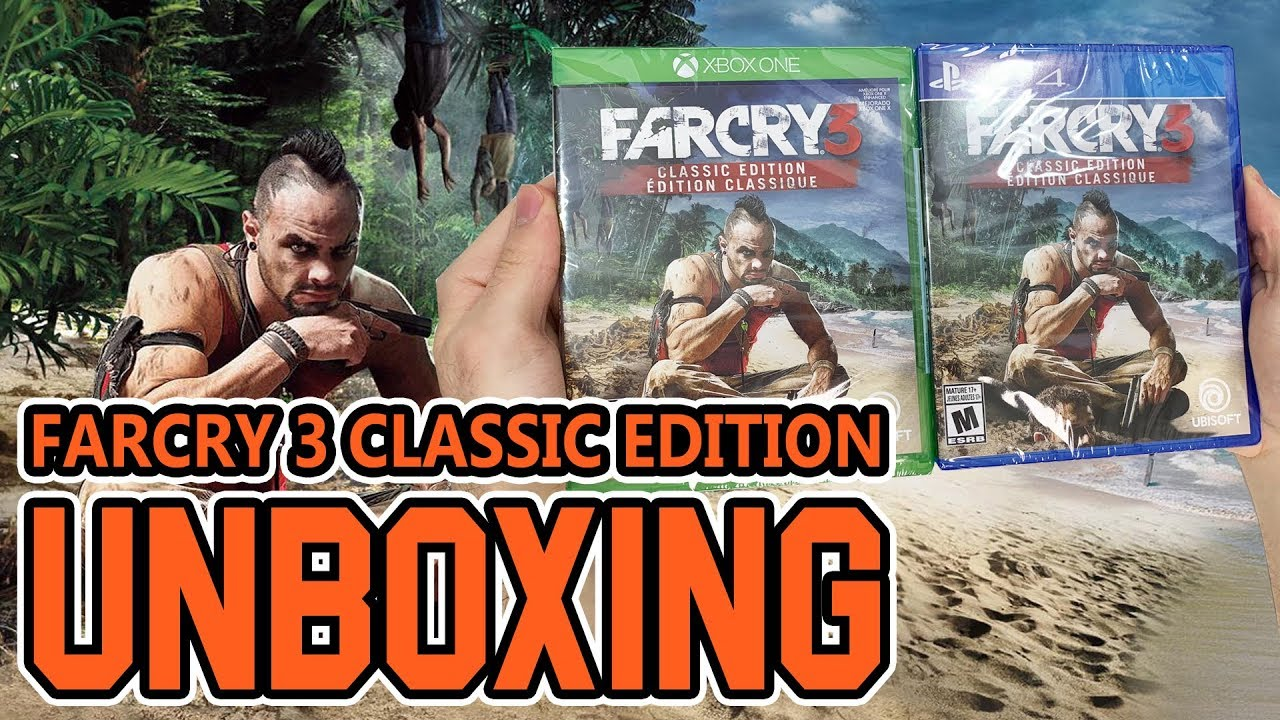 Far Cry 3 Classic Edition Xbox One Ps4 Unboxing Youtube