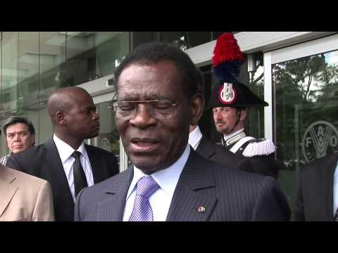Entrevista con el Presidente de la República de Guinea Ecuatorial, Obiang Nguema Mbasogo