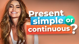 Learn English Grammar With TV Series   Present Simple vs. Present Continuous Tenses