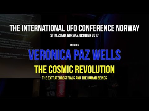 The Cosmic Revolution w/Veronica Paz Wells; The Extraterrestials and the human beings