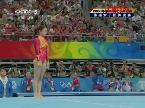 [ 完整赛事 ] 2008年第29届北京奥运会 体操女子团体决赛