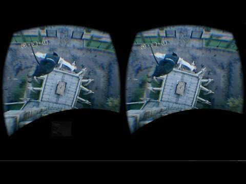 Assassin's Creed Unity Oculus Rift DK2 1080p Ultra High Zeiss head tracking Virtual Desktop