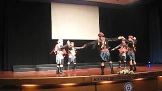 ADÜ 2010-2011 Tıp Fakültesi Mezuniyet Töreni Zeybek Gösterisi - Harmandalı