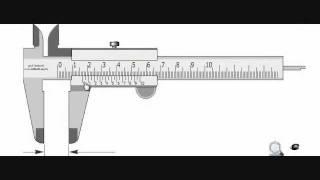 القدمة ذات الورنية (البوكليس)- vernier caliper