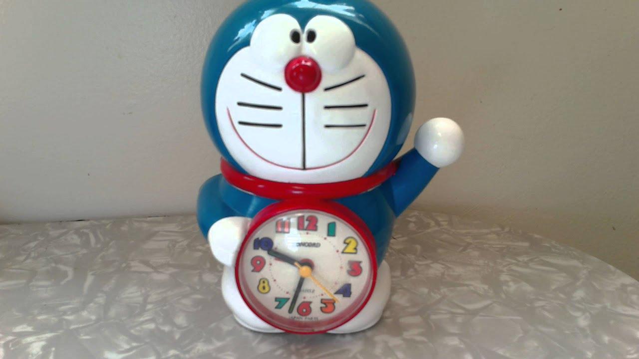 Doraemon Concord Musical Alarm Clock Quartz Japan Parts Manga Anime