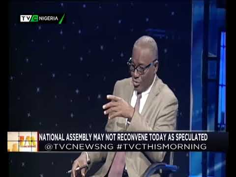 TVC This Morning 14th August, 2018 | National Assembly not recovening as speculated