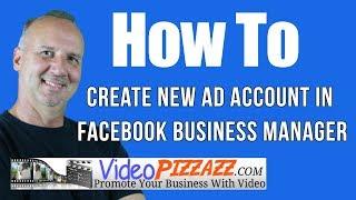 Erstellen Neuer Ad-Konto In Den Facebook Business Manager - Erstellen Einer Facebook Ads-Konto