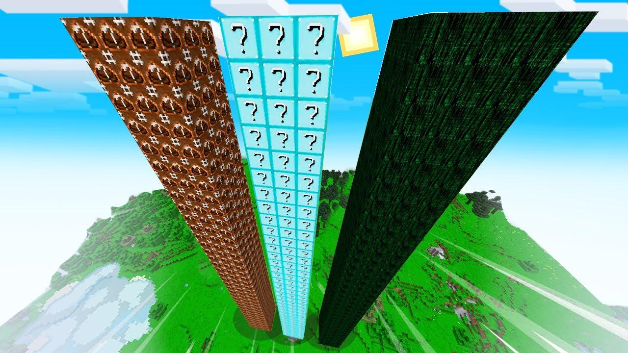 Minecraft - WIEŻA LUCKY BLOCK CHALLENGE | NOOB vs PRO vs HAKER | Vito vs Bella
