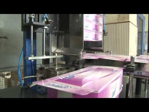 Semi Automatic Facial tissue Box sealing machine