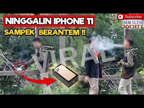 Social Experiment | Put The Iphone 11 In A Public Place Taken By Thief