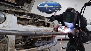 homepage tile video photo for Budget Winter Beater Ep. 4: Welding My Own Bash Bar + Rally Lights