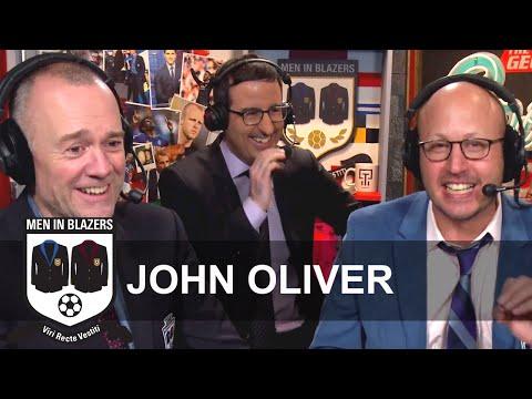 Men in Blazers: John Oliver host of HBOs Last Week Tonight with John Oliver