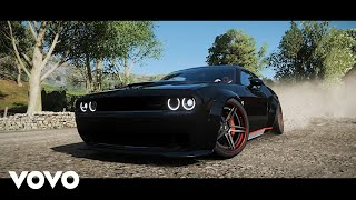 MadMikey - Ride Or Die (BASS BOOSTED) / FH4: Dodge Challenger SRT Hellcat
