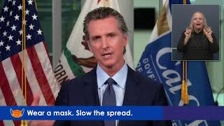 LIVE: California Governor Gavin Newsom gives a COVID-19 update as cases continue to rise