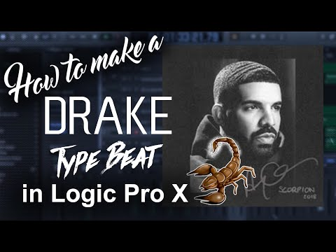 🦂 How to make a Drake type beat in Logic Pro X   8 out of 10 Remake   Real Sample Hip Hop