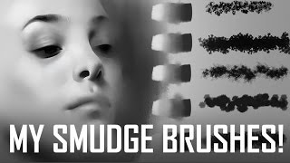 My Smudge Brushes are now available! + Why smudging is the superior blending method!